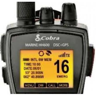 COBRA MR HH600FLT GPS BT EU-VHF MARITIMO
